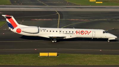 F-GRGF - Embraer ERJ-145EU - HOP! for Air France