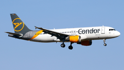 A picture of DAICA - Airbus A320212 - Condor - © Javier Rodriguez - Amics de Son Sant Joan
