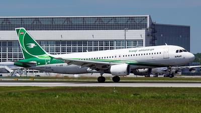 YI-ARB - Airbus A320-214 - Iraqi Airways