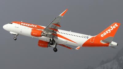 G-EZOU - Airbus A320-214 - easyJet