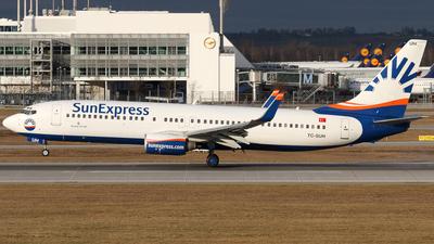 TC-SUH - Boeing 737-8CX - SunExpress