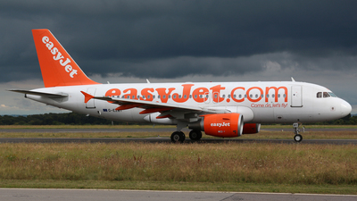 G-EZBY - Airbus A319-111 - easyJet