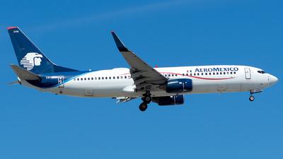 A picture of XAZAM - Boeing 737852 - Aeromexico - © Lorenzo P