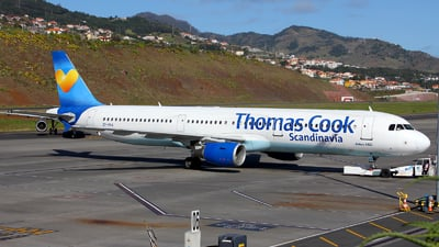 OY-VKA - Airbus A321-211 - Thomas Cook Airlines Scandinavia