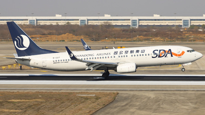 A picture of B1227 - Boeing 73785N - Shandong Airlines - © Fang Xiaoyu