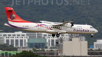 B-22816 - ATR 72-212A(600) - TransAsia Airways