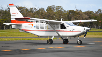 VH-AQL - Gippsland GA-8 Airvan - Helicopter Logistics