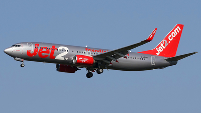 G-JZBM - Boeing 737-8MG - Jet2.com