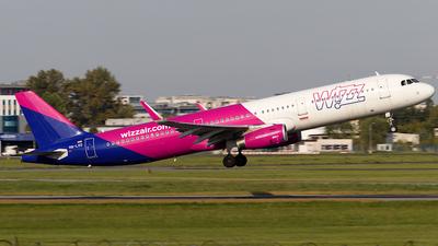 HA-LXO - Airbus A321-231 - Wizz Air