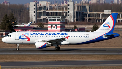 VP-BTZ - Airbus A320-214 - Ural Airlines