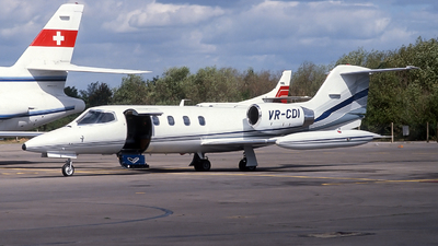 VR-CDI - Gates Learjet 35A - Private