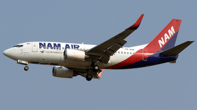 PK-NAQ - Boeing 737-524 - NAM Air