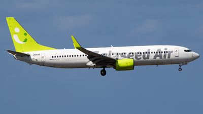 A picture of JA804X - Boeing 73786N - Solaseed Air - © H.Hayashi