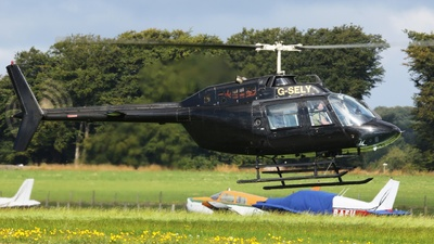 A picture of GSELY - AgustaBell 206B JetRanger II - [8740] - © ian simpson