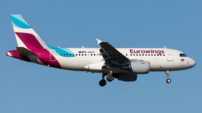 D-ABGH - Airbus A319-112 - Eurowings