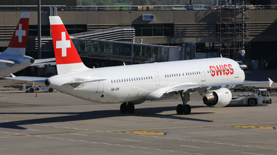 HB-IOK - Airbus A321-111 - Swiss