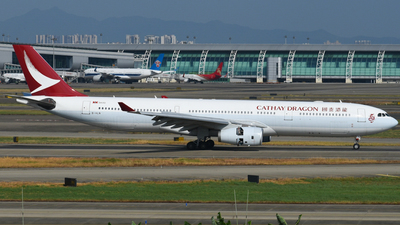 B-HLN - Airbus A330-343 - Cathay Dragon