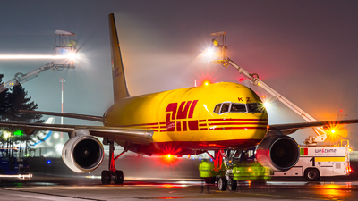 A picture of GDHKZ - Boeing 757236(PCF) - DHL - © Fryderyk Kastelnik/ Fred Aviation