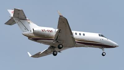 VT-FAF - Raytheon Hawker 800XP - Private