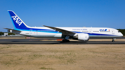 A picture of JA883A - Boeing 7879 Dreamliner - All Nippon Airways - © Shogo Kawai