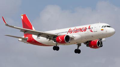 N750AV - Airbus A320-214 - Avianca
