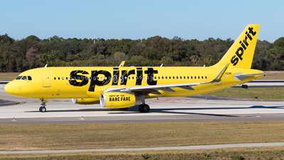 A picture of N692NK - Airbus A320232 - Spirit Airlines - © Martin Rogosz