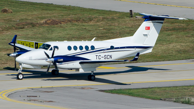 TC-SCN - Beechcraft B200GT Super King Air - Private