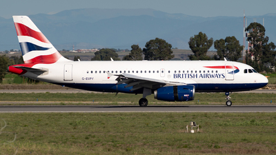 A picture of GEUPY - Airbus A319131 - British Airways - © Yuri Gullone - RomeAviationSpotters