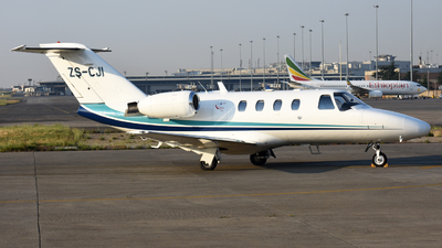 ZS-CJI - Cessna 525 Citationjet CJ1 - Private