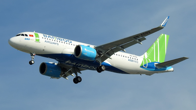 A picture of VNA592 - Airbus A320251N - Bamboo Airways - © Sieu Viet