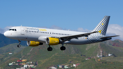 EC-JSY - Airbus A320-214 - Vueling Airlines