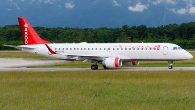 HB-JQE - Embraer 190-100LR - Baboo