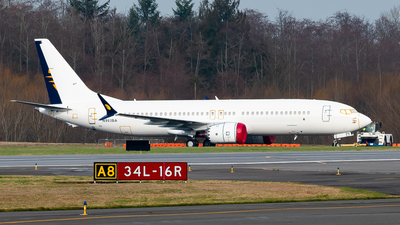 N983BA - Boeing 737-8 MAX - Boeing Company