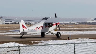 CF-YES - Piper PA-18-150 Super Cub - Private