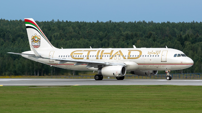 A picture of A6EIW - Airbus A320232 - Etihad Airways - © Dmitry Molokovich