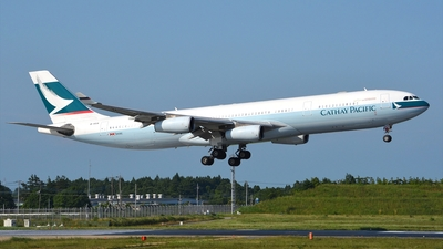 B-HXA - Airbus A340-313 - Cathay Pacific Airways