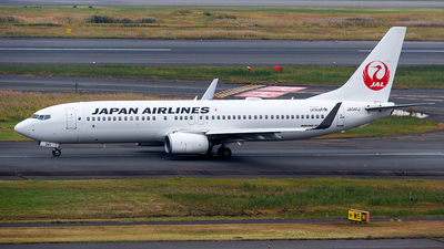 JA341J - Boeing 737-846 - Japan Airlines (JAL)