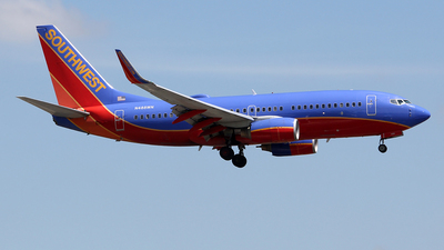 N488WN - Boeing 737-7H4 - Southwest Airlines