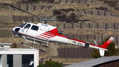 A picture of HBZNJ - Eurocopter AS350 B3 Ecureuil -  - © Jeremy Denton