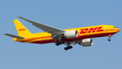 A picture of N776CK - Boeing 777F - DHL - © Donald  E Moore