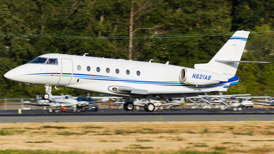 N621AB - Gulfstream G200 - Private