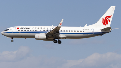 B-5423 - Boeing 737-89L - Air China
