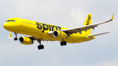 A picture of N673NK - Airbus A321231 - Spirit Airlines - © vidal spotter