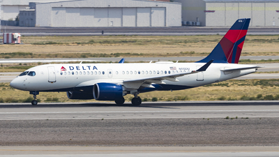 A picture of N115DU - Airbus A220100 - Delta Air Lines - © David Lee