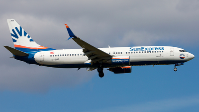 A picture of TCSNT - Boeing 7378HC - SunExpress - © Chr Pe