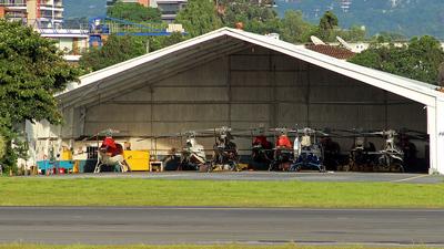 MGGT - Airport - Hangar