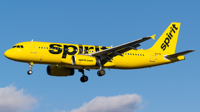 A picture of N697NK - Airbus A320232 - Spirit Airlines - © Evan Dougherty