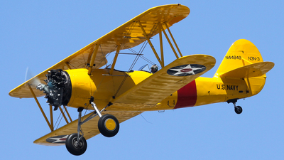 N44848 - Naval Aircraft Factory N3N-3 Yellow Peril - Private