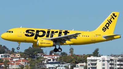 N524NK - Airbus A319-132 - Spirit Airlines