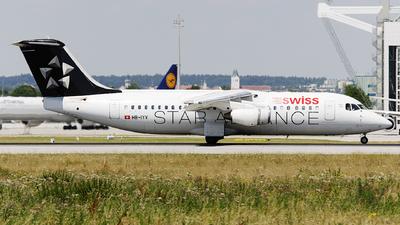 HB-IYV - British Aerospace Avro RJ100 - Swiss
